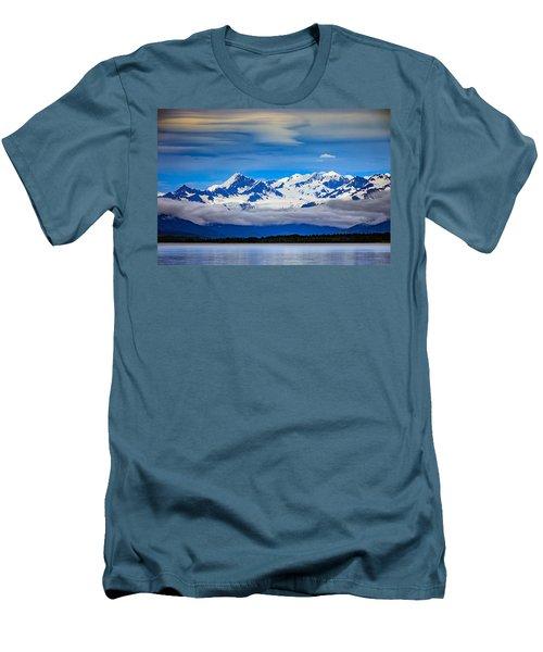 Prince William Sound, Alaska Men's T-Shirt (Athletic Fit)
