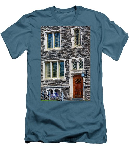 Men's T-Shirt (Slim Fit) featuring the photograph Princeton University Patton Hall No 9 by Susan Candelario