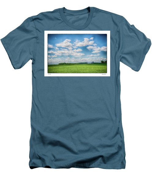 Prison Barn Men's T-Shirt (Slim Fit) by R Thomas Berner