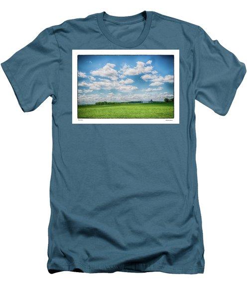 Prison Barn Men's T-Shirt (Athletic Fit)