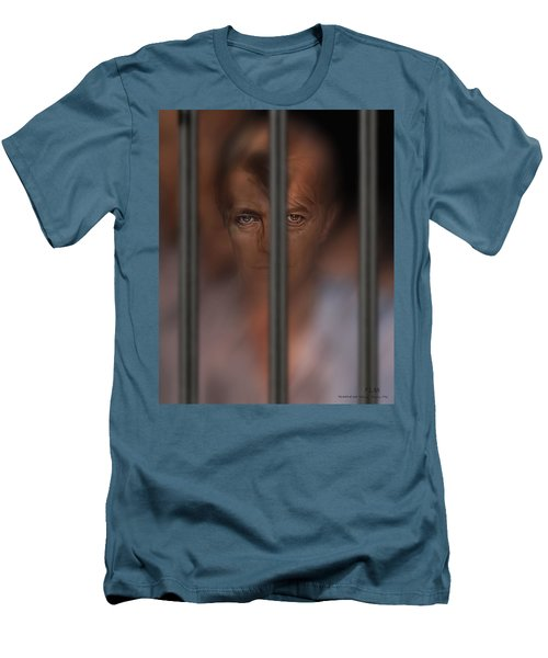 Prisoner Of Love Men's T-Shirt (Athletic Fit)