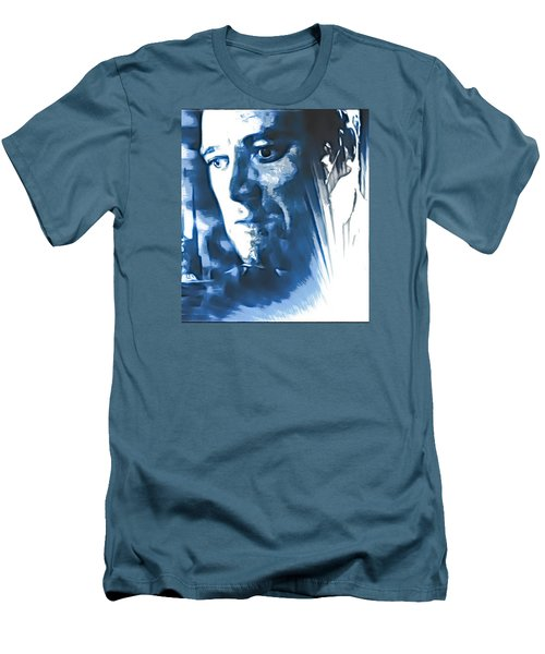 Men's T-Shirt (Slim Fit) featuring the photograph Profile Of An Eccentric Doctor by Mario Carini