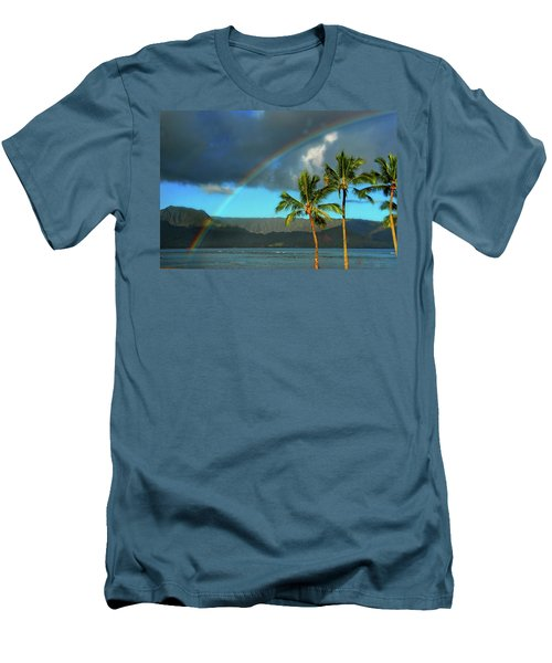 Promise Of Hope Men's T-Shirt (Slim Fit) by Lynn Bauer