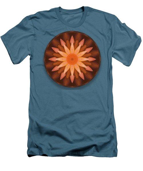 Pumpkin Mandala -  Men's T-Shirt (Athletic Fit)
