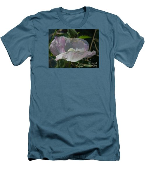 Purple Flower 4 Men's T-Shirt (Athletic Fit)