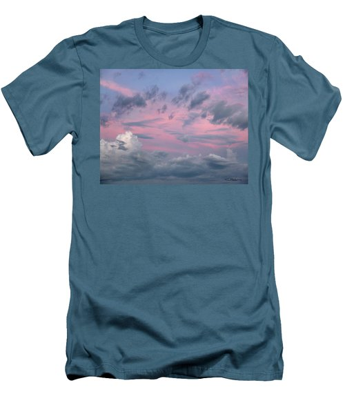 Purple Sunrise Men's T-Shirt (Slim Fit) by Tim Fitzharris