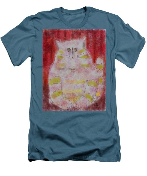 Pussy Cat Men's T-Shirt (Athletic Fit)