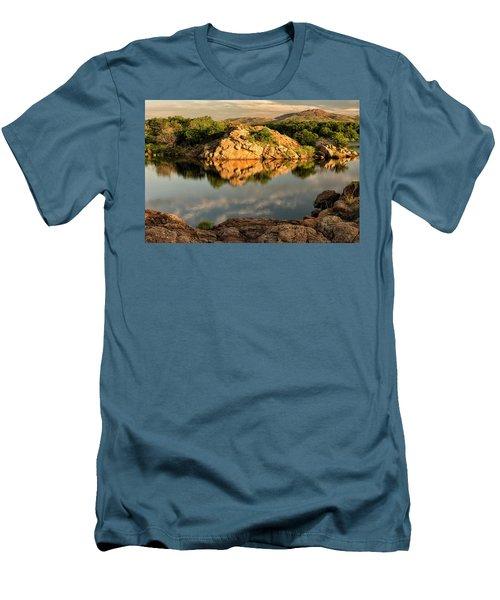 Quanah Parker Lake Men's T-Shirt (Athletic Fit)