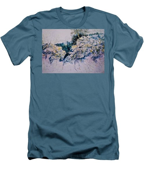 Quiet Journey Men's T-Shirt (Slim Fit) by Carolyn Rosenberger