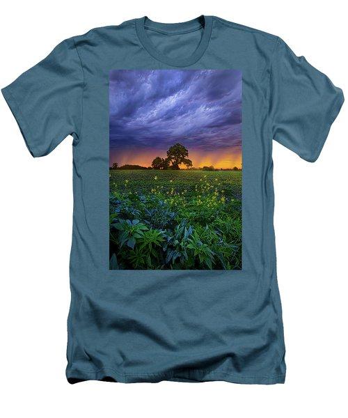 Quietly Drifting By Men's T-Shirt (Slim Fit) by Phil Koch