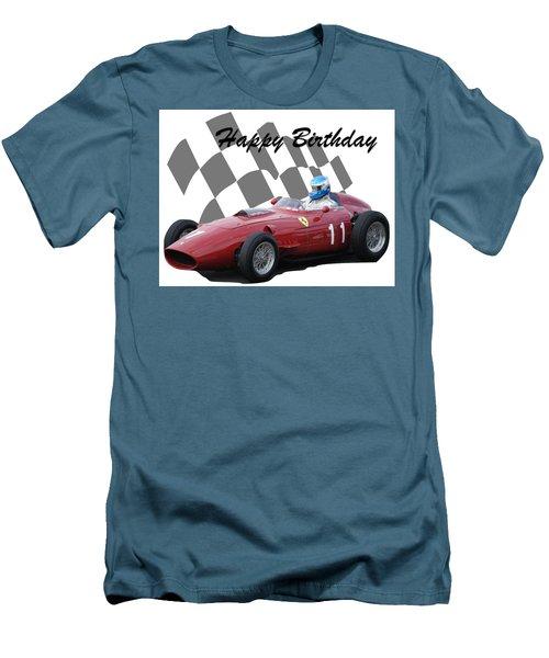 Racing Car Birthday Card 2 Men's T-Shirt (Athletic Fit)