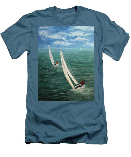Racing Men's T-Shirt (Athletic Fit)