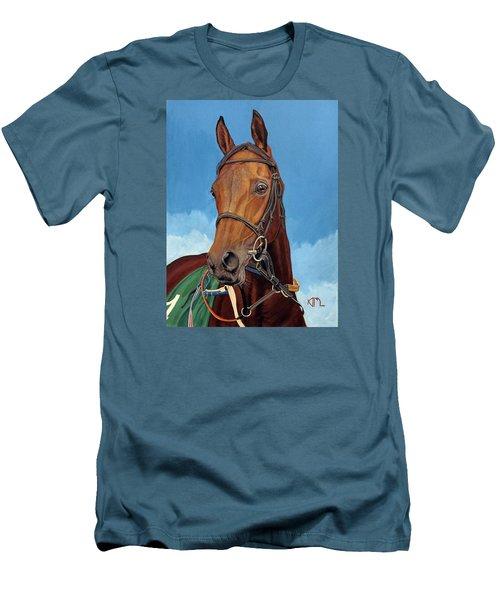 Radamez - Arabian Race Horse Men's T-Shirt (Athletic Fit)