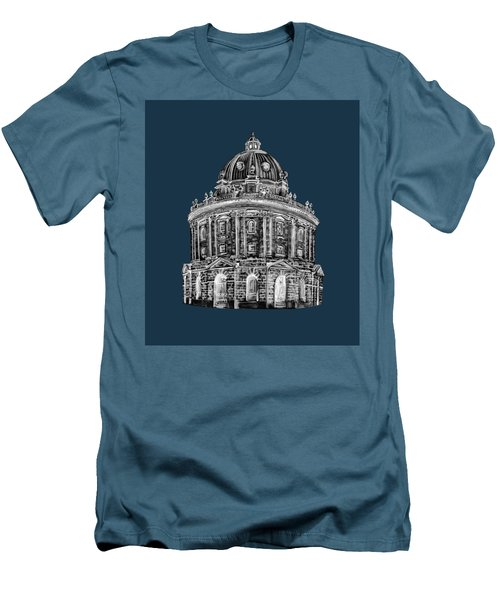 Men's T-Shirt (Athletic Fit) featuring the digital art Radcliffe At Night by Elizabeth Lock