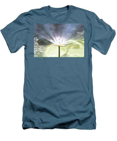 Rays Of Hope Men's T-Shirt (Slim Fit) by Douglas Barnard