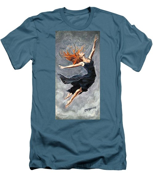 Reach For The Stars Men's T-Shirt (Slim Fit) by Janet McDonald
