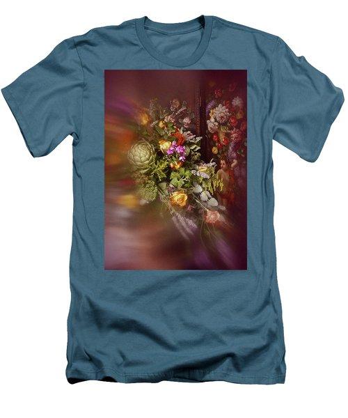 Floral Arrangement No. 1 Men's T-Shirt (Slim Fit) by Richard Cummings