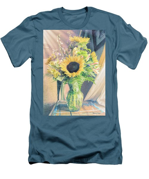 Men's T-Shirt (Athletic Fit) featuring the photograph Reared In The Lap Of Summer by Bellesouth Studio