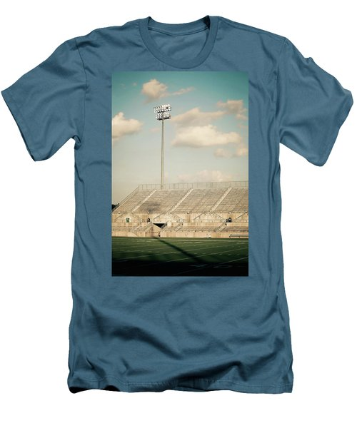Men's T-Shirt (Slim Fit) featuring the photograph Recalling High School Memories by Trish Mistric