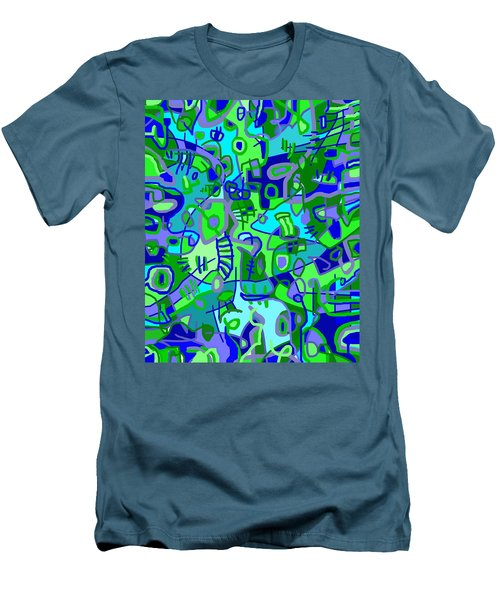 Recess Men's T-Shirt (Slim Fit) by Jeff Gater