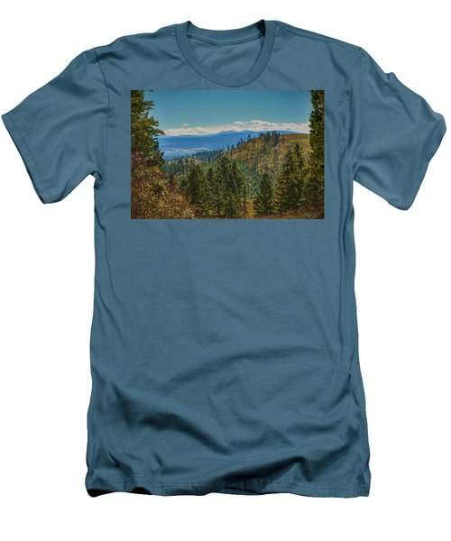Recovery After Fire At Yellowstone Men's T-Shirt (Slim Fit) by Penny Lisowski