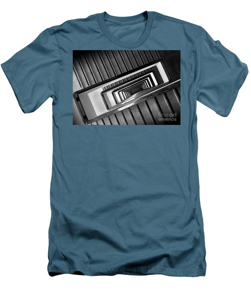 Rectangular Spiral Staircase Men's T-Shirt (Athletic Fit)