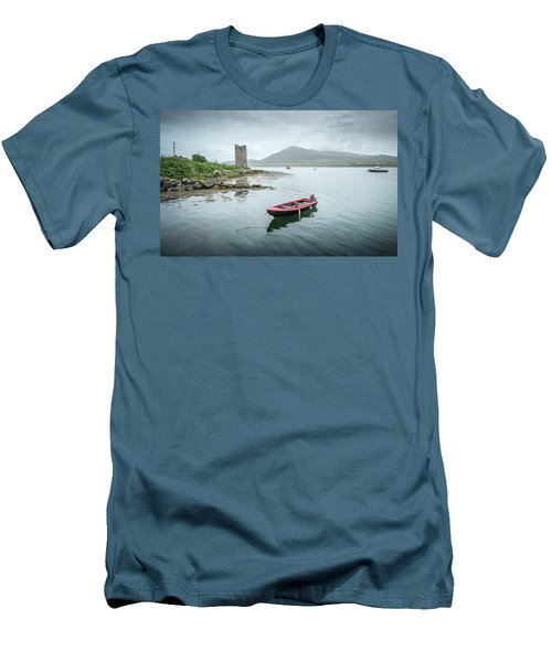 Red Boat Men's T-Shirt (Slim Fit) by Marty Garland