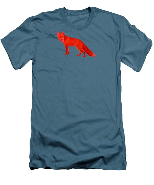 Red Fox Forest Men's T-Shirt (Athletic Fit)