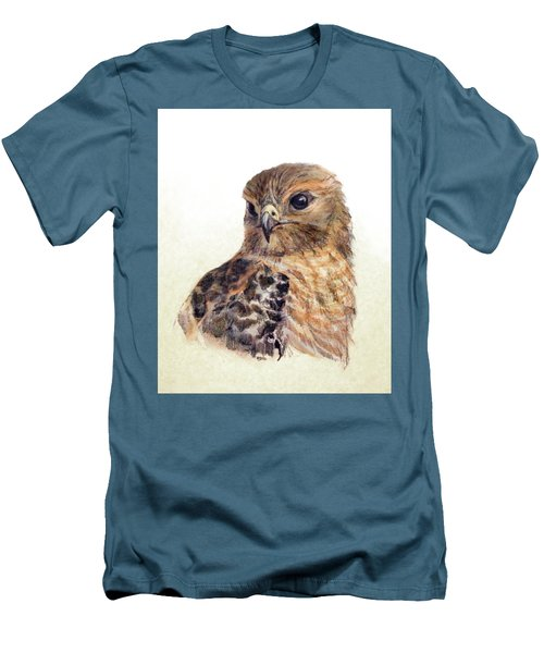 Red-shouldered Hawk Men's T-Shirt (Athletic Fit)