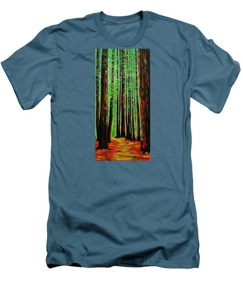 Redwoods Majestic 2 Men's T-Shirt (Athletic Fit)
