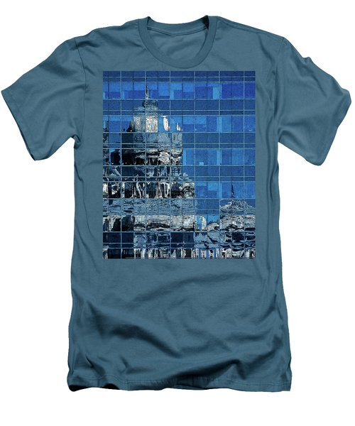 Reflection And Refraction Men's T-Shirt (Slim Fit) by Alex Galkin