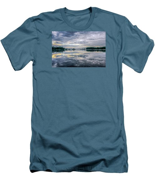 Men's T-Shirt (Slim Fit) featuring the photograph Reflection by Rob Sellers