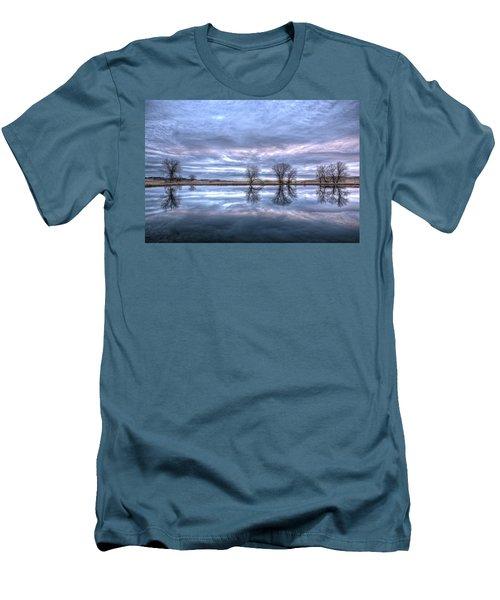 Reflections Men's T-Shirt (Slim Fit) by Fiskr Larsen