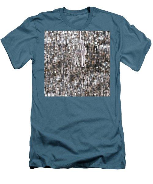 Men's T-Shirt (Slim Fit) featuring the photograph Reindeer  by Ulrich Schade
