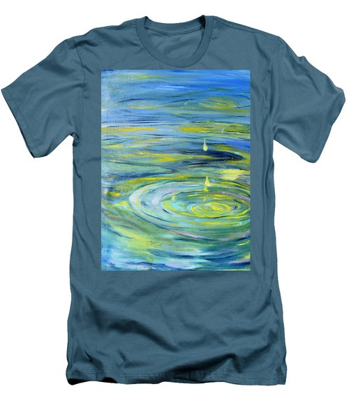 Relaxation Men's T-Shirt (Slim Fit) by Evelina Popilian