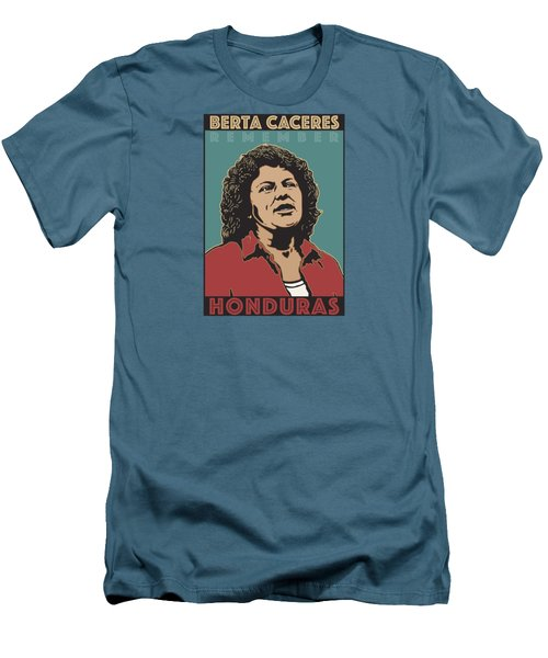 Remember Berta Caceres Men's T-Shirt (Athletic Fit)