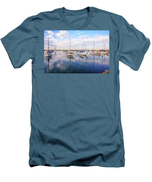 Resting On Glass Men's T-Shirt (Slim Fit) by Joseph S Giacalone