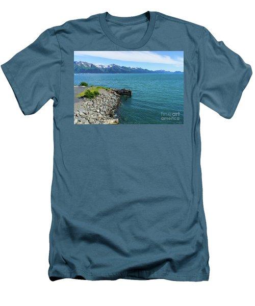 Resurrection Bay Men's T-Shirt (Slim Fit) by Jennifer White