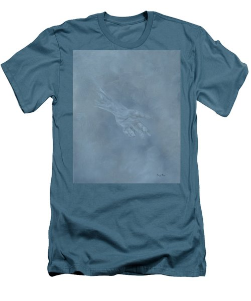Men's T-Shirt (Athletic Fit) featuring the painting Return To Dust by Judith Rhue