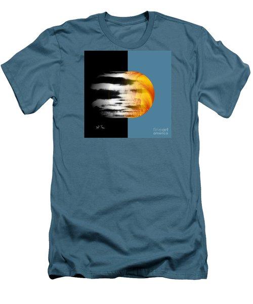 Men's T-Shirt (Slim Fit) featuring the digital art Revelation by Leo Symon