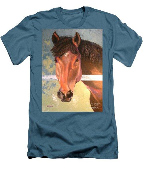 Reverie - Quarter Horse Men's T-Shirt (Athletic Fit)