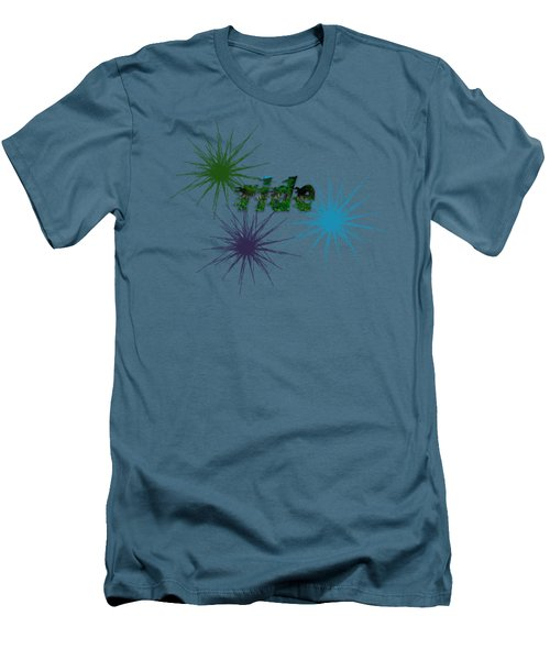 Ride Text And Art Men's T-Shirt (Athletic Fit)
