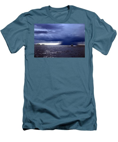 Riders On The Storm Men's T-Shirt (Slim Fit) by Rdr Creative
