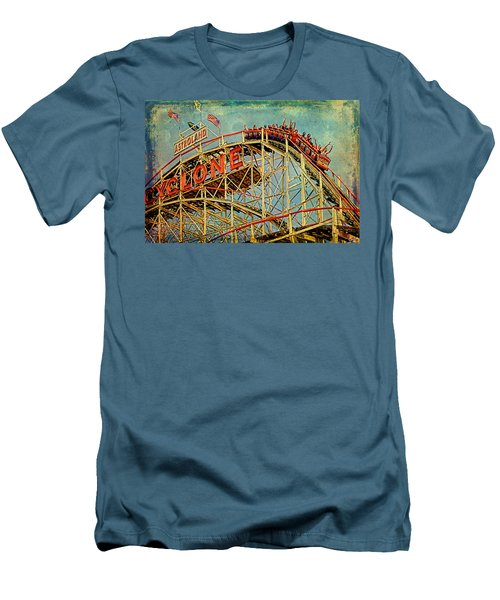 Riding The Cyclone Men's T-Shirt (Athletic Fit)