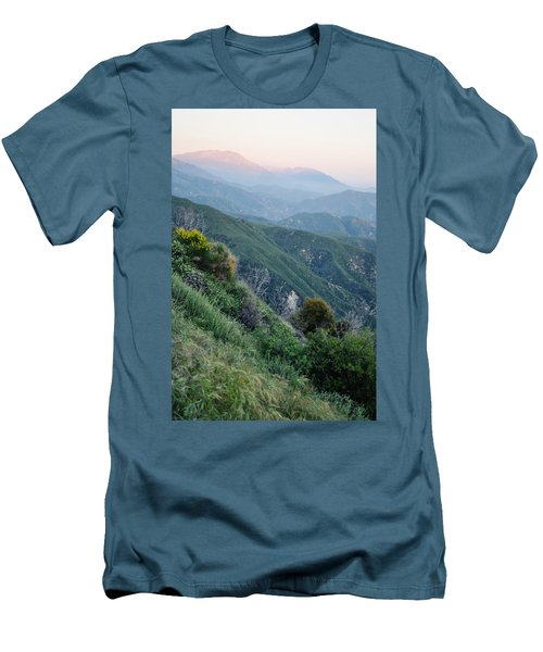 Men's T-Shirt (Slim Fit) featuring the photograph Rim O' The World National Scenic Byway II by Kyle Hanson