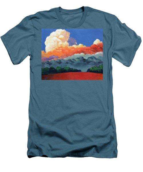 Rising High Men's T-Shirt (Slim Fit) by Gary Coleman