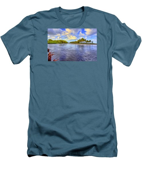 River Island Men's T-Shirt (Slim Fit) by Nadia Sanowar