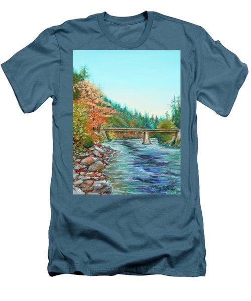 Riverdance Men's T-Shirt (Athletic Fit)