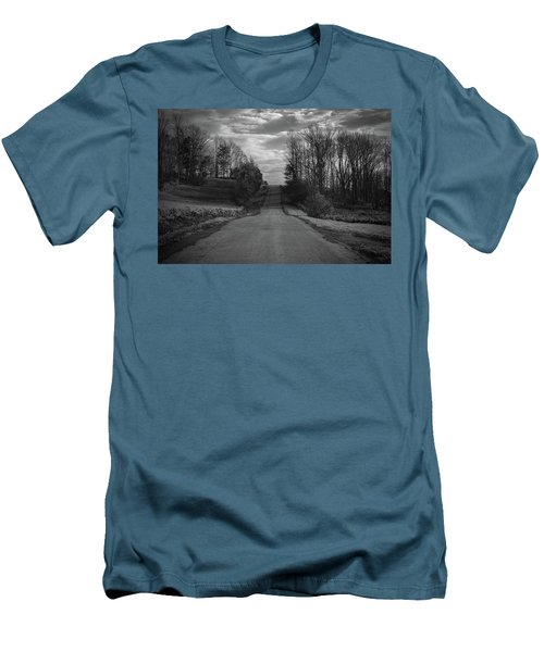 Road To Success Men's T-Shirt (Slim Fit) by Stefanie Silva