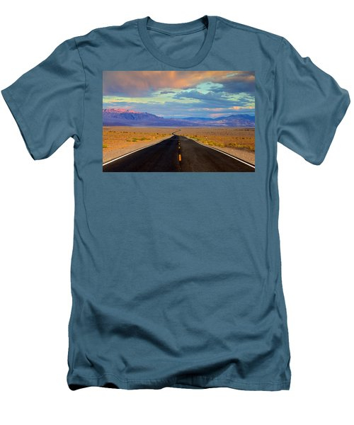 Men's T-Shirt (Slim Fit) featuring the photograph Road To The Dreams by Evgeny Vasenev